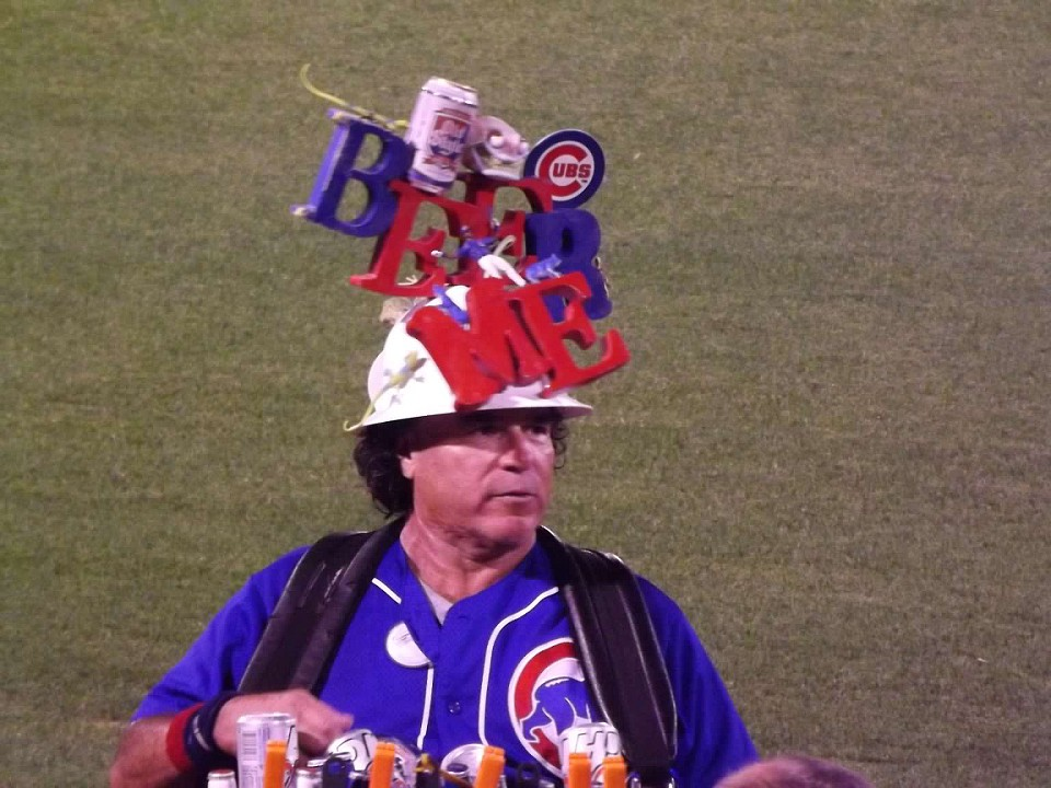 Famous beer man of Arizona Spring Training