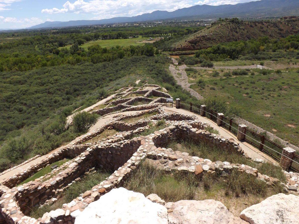 Ancient dwellings at Tuzigoot National Monument