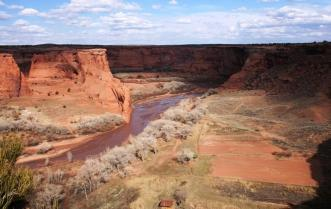 Spider Rock Overlook at Canyon de Chelly Photo by National Park Service