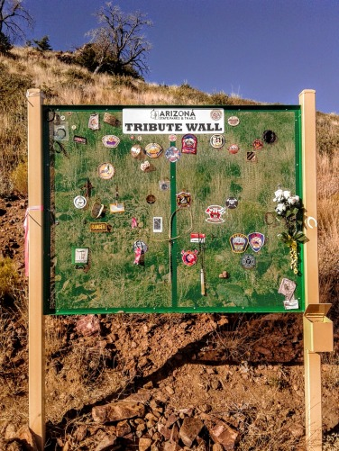 Granite Mountain Hotshots Tribute Wall