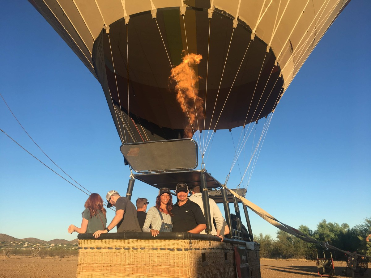 Arizona Balloon Safari review: A great way to celebrate special moments