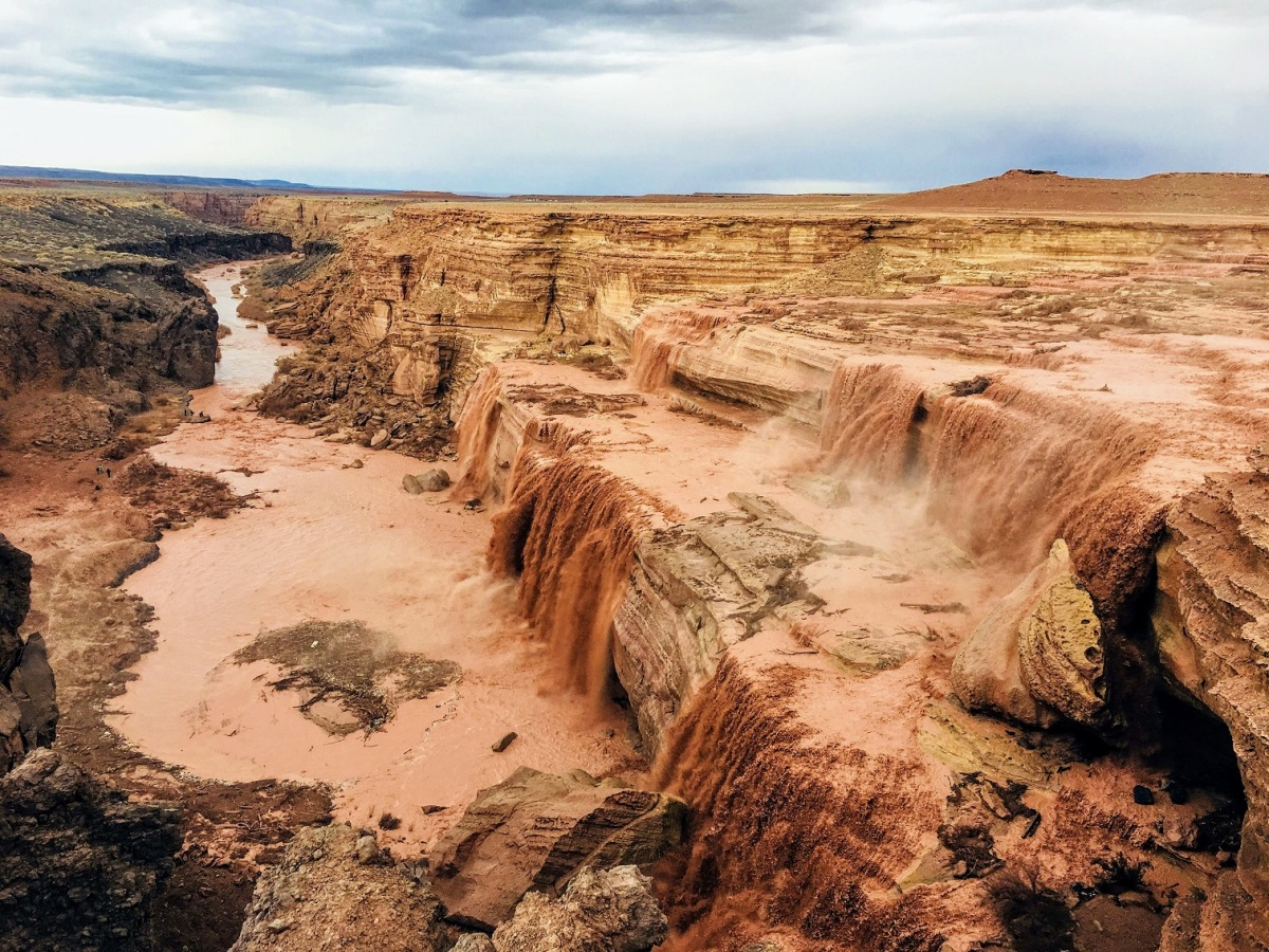 What you need to know before you go see beautiful Grand Falls in Arizona